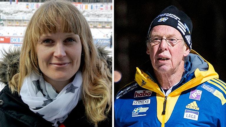 Linda Bengtsson och Wolfgang Pichler