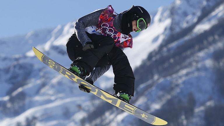 Ståle Sandbech i OS i Sotji. Foto: AP/TT