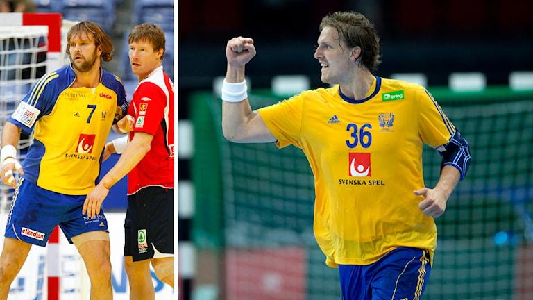Collage Magnus Jernemyr och Jesper Nielsen. Foto: TT