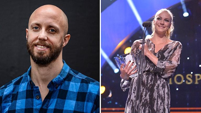 Lars Frölander och Sarah Sjöström