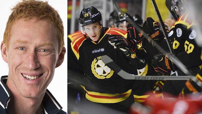 Jörgen Jönsson och Brynäs. Foto: SR och TT