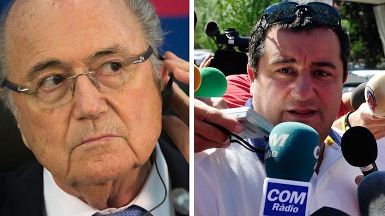 Blatter och Raiola