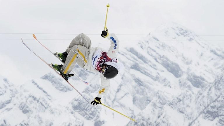 Emma Dahlström i OS i Sotji. Foto: Pontus Lundahl/TT