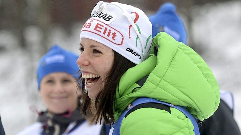 Charlotte Kalla. Foto: TT Nyhetsbyrån