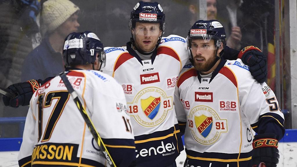 Djurgårdsjubel. Foto: Mikael Fritzon/TT