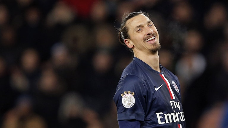 Zlatan Ibrahimovic. Foto: Christophe Ena/AP/TT