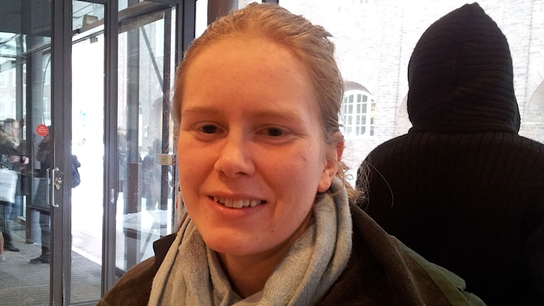2014, Maja Reichard. Foto: Lasse Persson/SR