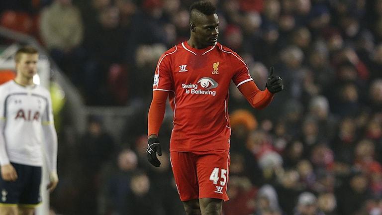 Mario Balotelli i Liverpool-segern mot Tottenham