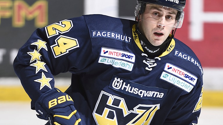 Erik Christensen, HV 71. Foto: Mikael Fritzon/TT.
