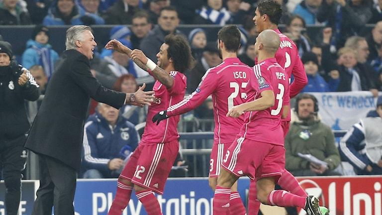 Marcelo firar sitt drömmål.