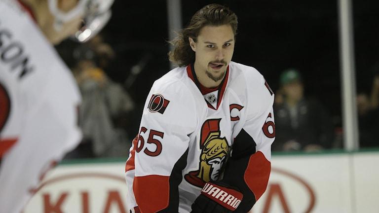 Ottawa Senators lagkapten Erik Karlsson. Foto: AP/TT Nyhetsbyrån