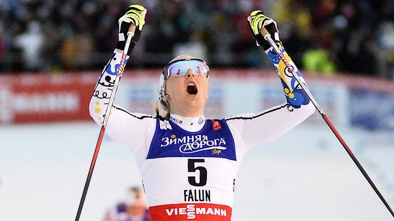 2015, Stina Nilsson. Foto: TT Nyhetsbyrån