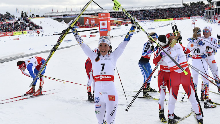 Kalla efter VM-bronset. Foto: TT Nyhetsbyrån