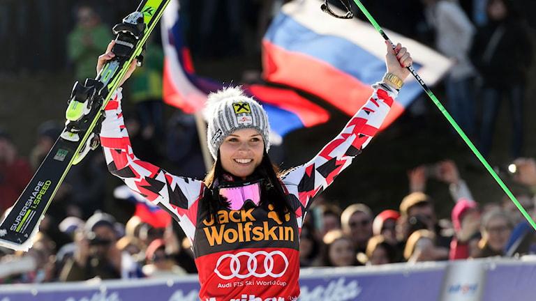 Anna Fenninger i Maribor
