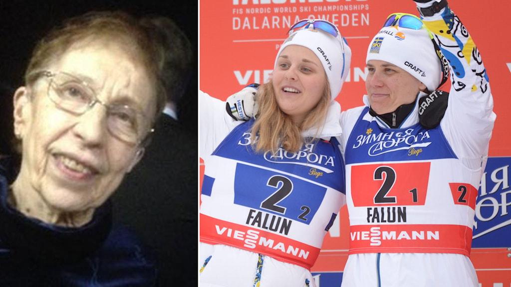 Irma Johansson och silverlaget