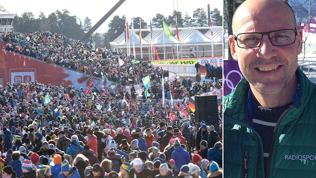 Lugnet skidstadion i Falun och Torgny Mogren