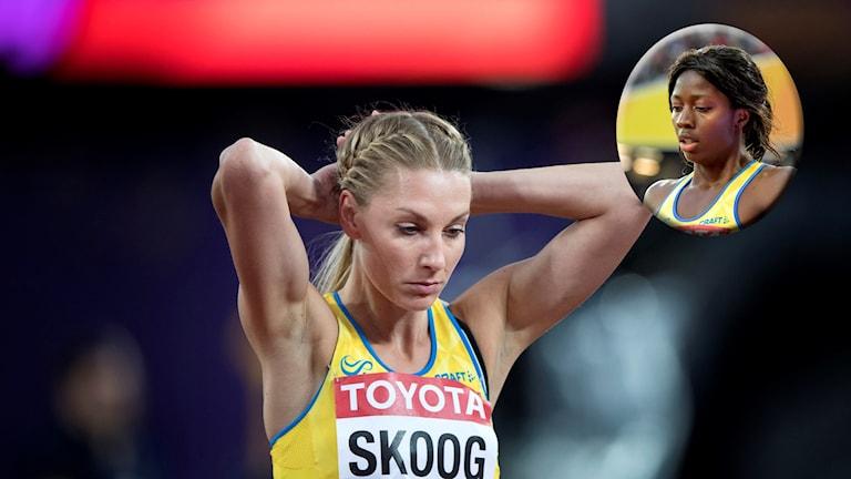 Varken Sofie Skoog eller Khaddi Sagnia tig sig till final.