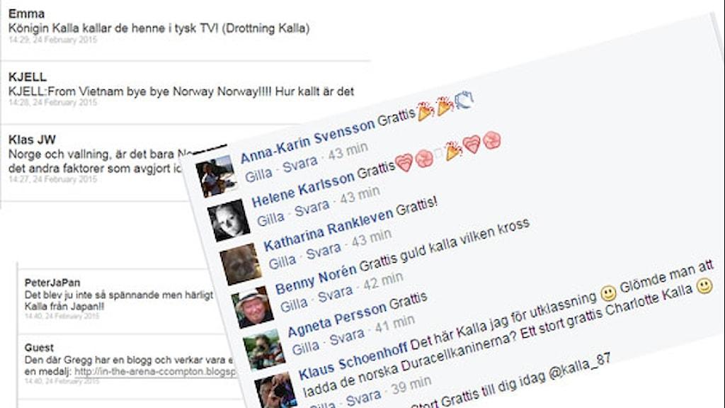 Reaktioner efter Kallas VM-guld.