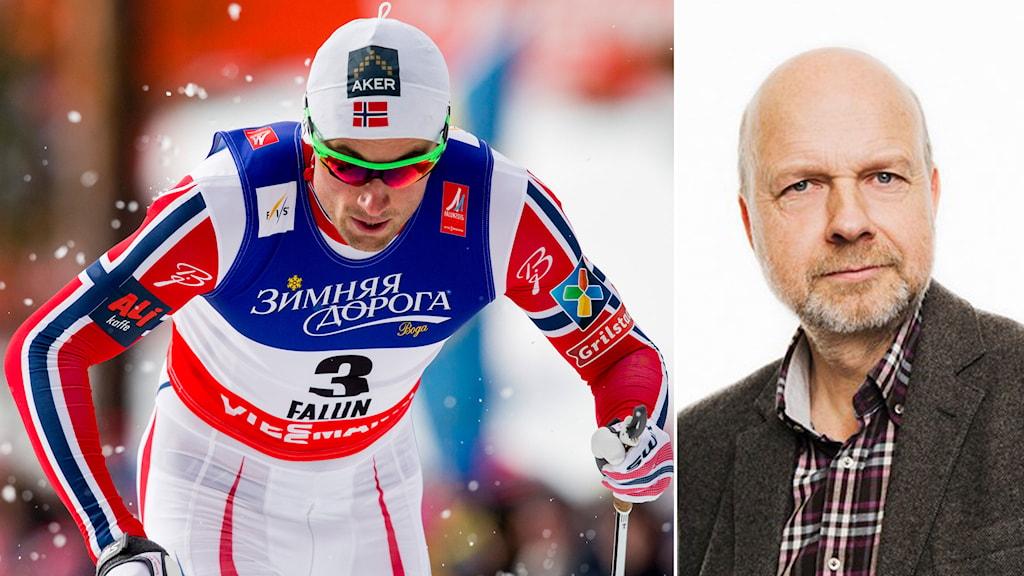 Petter Northug och Gunnar Bohlin