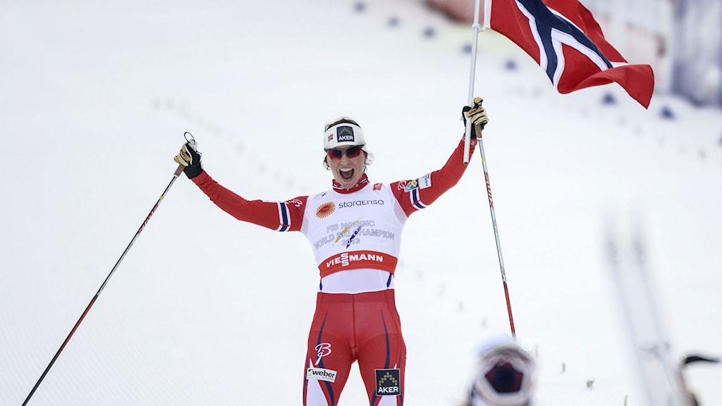 Marit Björgen. Foto: TT Nyhetsbyrån