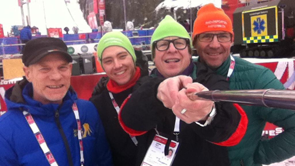 Jan Boklöv, Alexander Lundholm, Roger Burman och Torgny Mogren