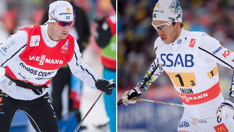Anders Södergren och Marcus Hellner