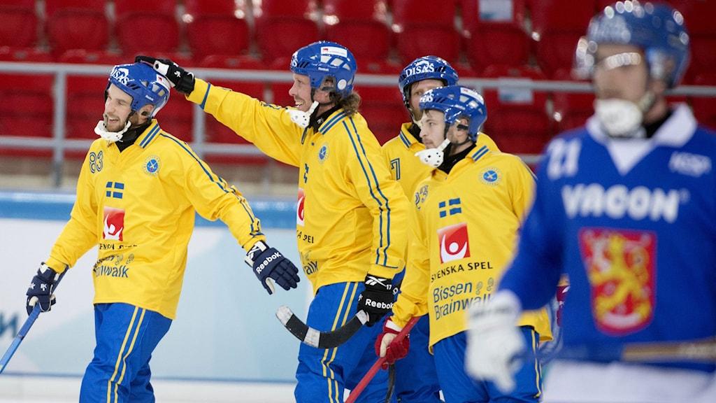 Daniel Andersson är inne i ett målstim och kan nu blicka framåt VM finalen på påskafton. Arkivfoto: Jessica Gow/TT