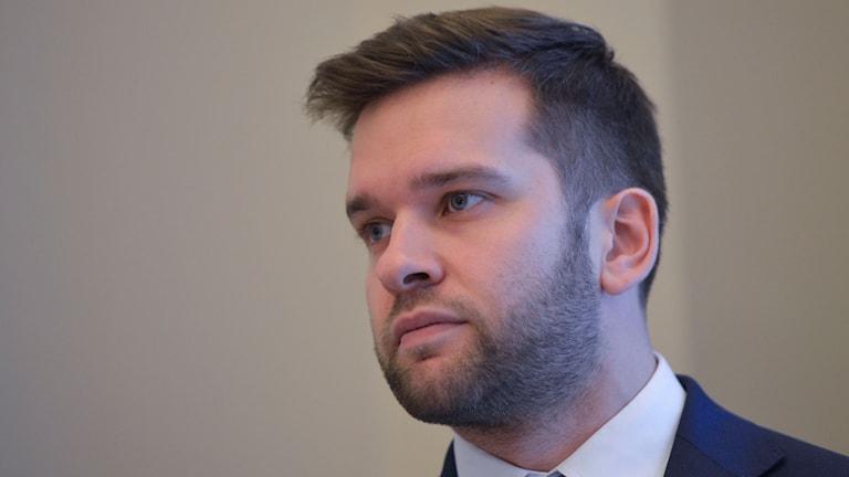2015 Gabriel Wikström idrottsminister