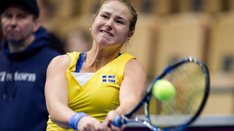 Rebecca Peterson. Foto: Björn Lindgren / TT.