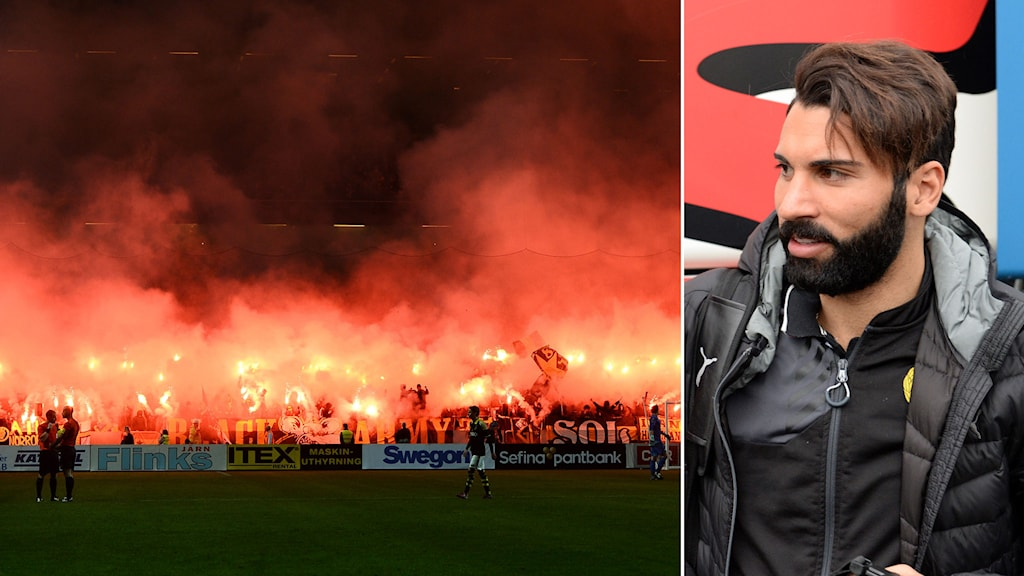 Bangalbränning under derbyt och Stefan Batan