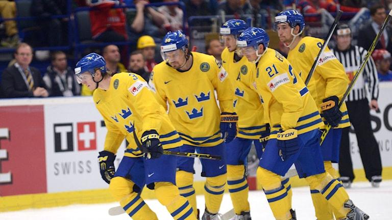 Svenskarna under Tre Kronors förlust mot Ryssland