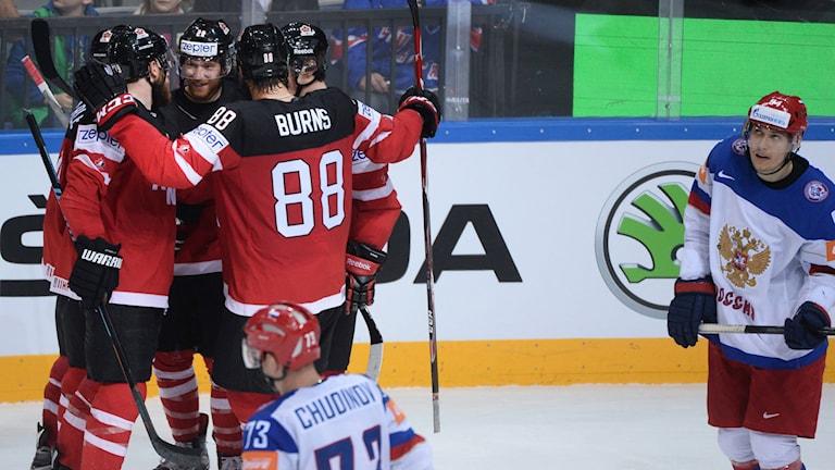 Kanada slog Ryssland