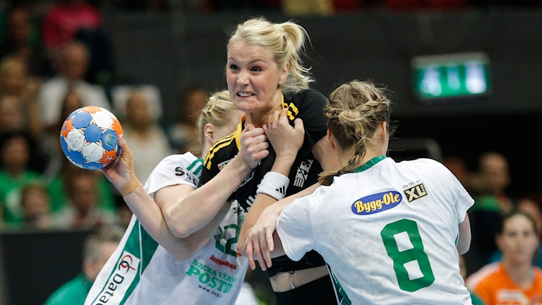 Sävehofs Ida Odén i SM-finalen mot Skuru. Foto: Adam Ihse / TT