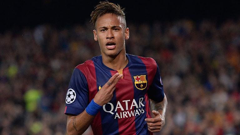 Neymar i Barcelonatröjan