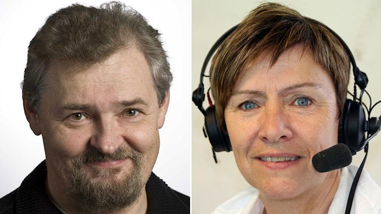 Paul Zyra och Anette Börjesson