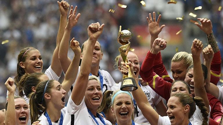 USA firar VM-guldet