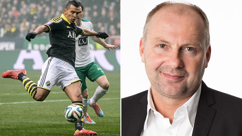 Nabil Bahoui och Håkan Mild. Foto: TT/SR