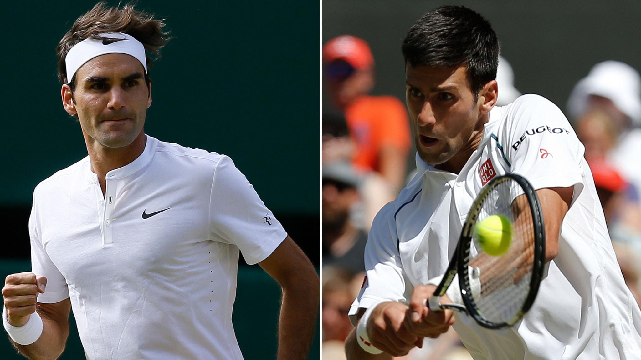 Federer vann makalos match