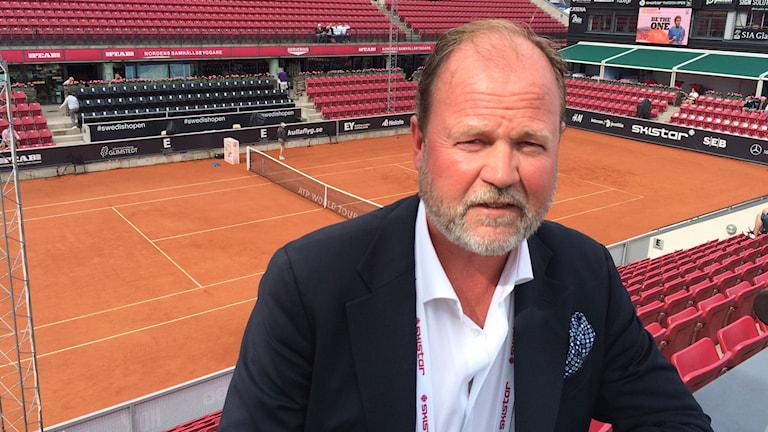Christer Hult turneringsdirektör Swedish Open