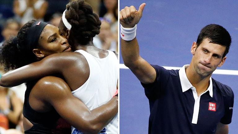 Williams och Djokovic