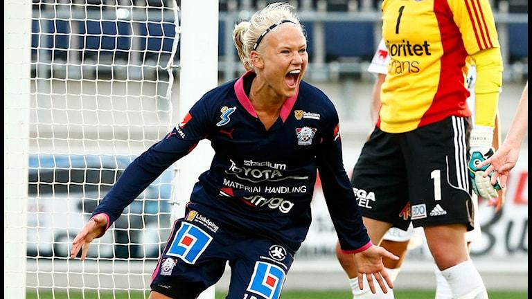 Pernille Harder, arkivbild. Foto: Stefan Jerrevång/TT