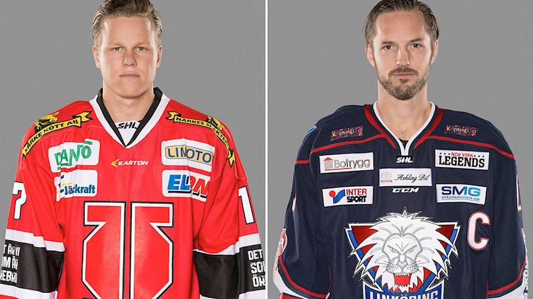 Daniel Viksten, Örebro, och Niklas Persson, Linköping. Foton: Stig Kenne/TT.