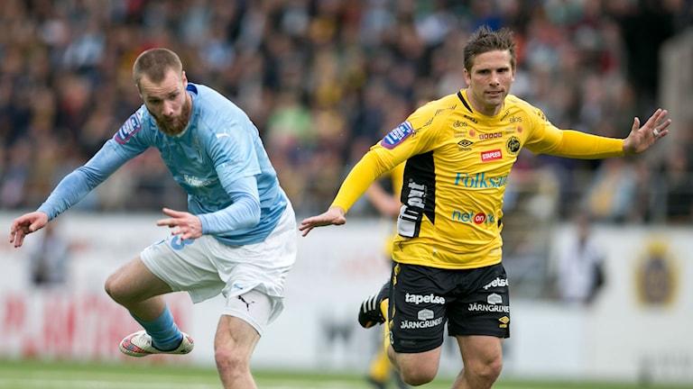 Kommer Anders Svensson få stopp på en Jo Inge Berget i målform? Foto: Björn Larsson Rosvall/TT