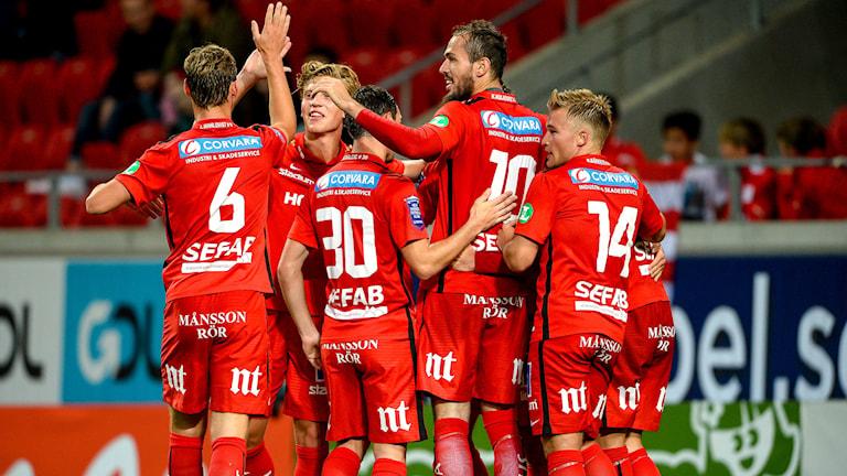 IFK Norrköping jublar i bortamötet med Kalmar