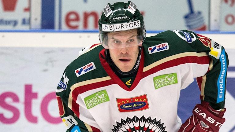 Magnus Kahnberg under SHL-säsongen 2014/15. Foto: Andreas Hillergren/TT