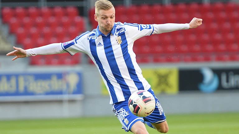 Mikael Bomans IFK ska försöka återta serieledningen. Foto: Patric Söderström/TT
