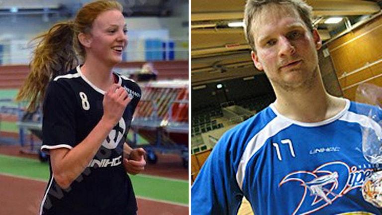 Ellen Rasmussen och Filip Kjellsson.