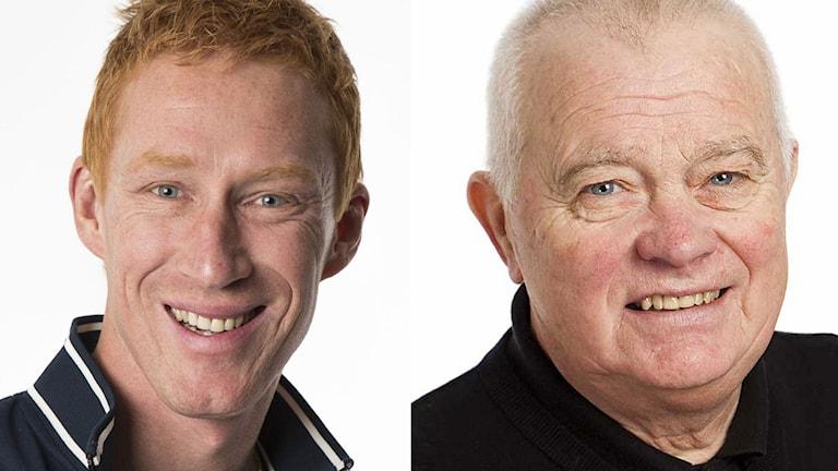 Jörgen Jönsson och Lars-Gunnar Jansson. Foto: SR