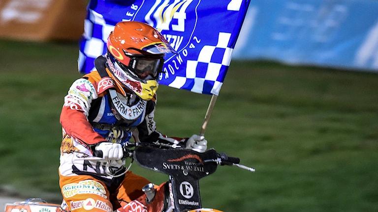 Vetlanda, Speedway. Foto: TT Nyhetsbyrån