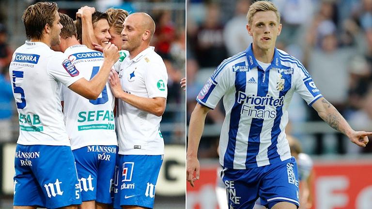 IFK Norrköping och IFK Göteborg har SM-guld i sikte. Foton: TT.